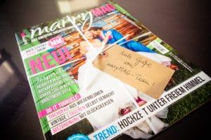 MarryMAG - Das neue Hochzeitsmagazin 1