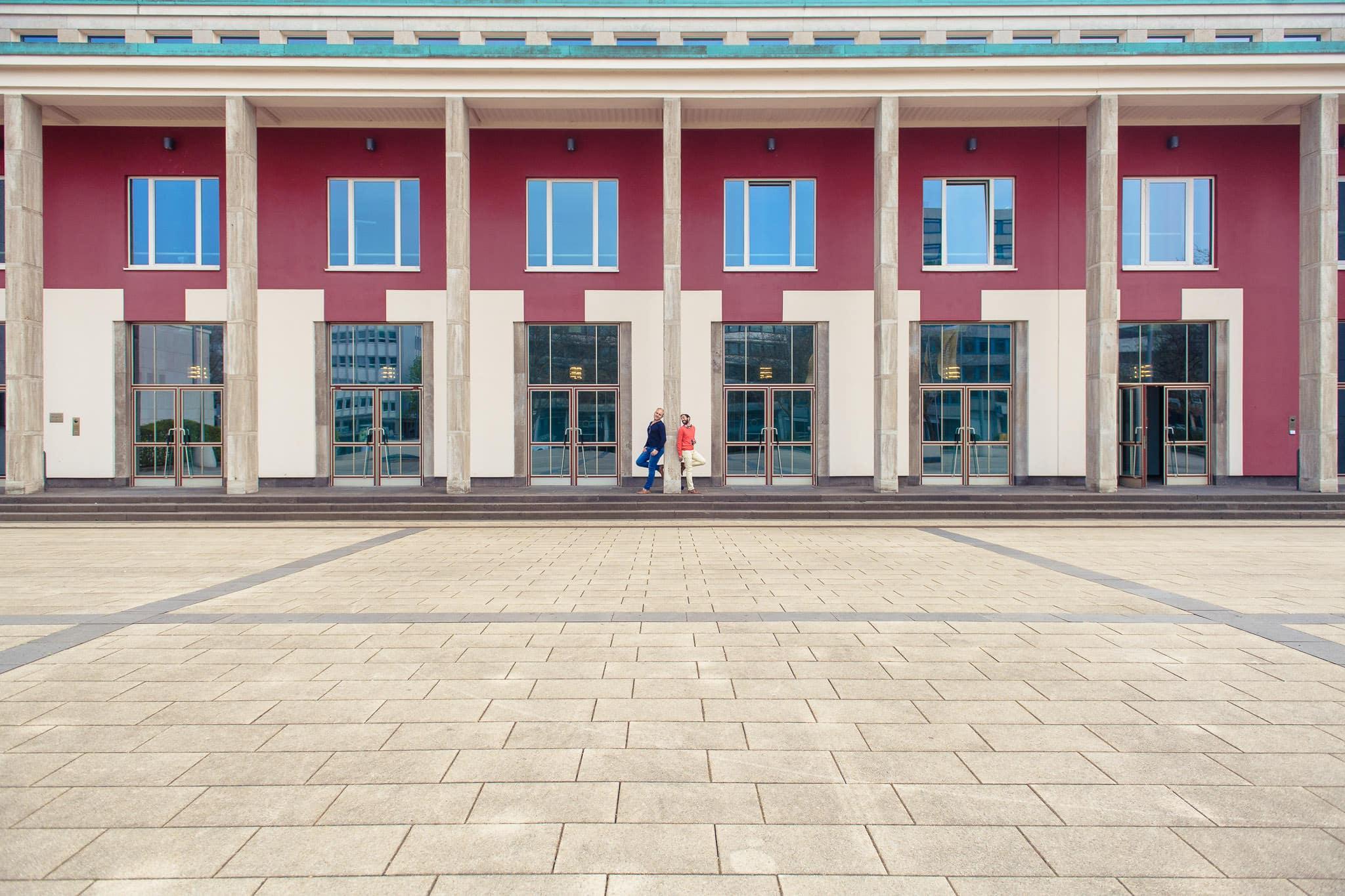 Paarfotos-Essen-Rüttenscheid-Zollverein-Aalto